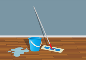 Effective mopping to reduce water usage